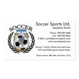 Argentina Soccer 2016 Fan Gear Business Card