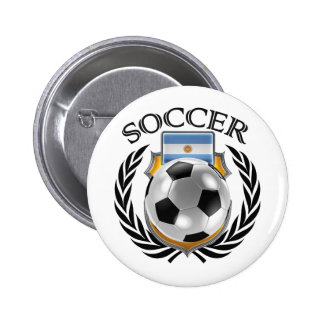 Argentina Soccer 2016 Fan Gear Button