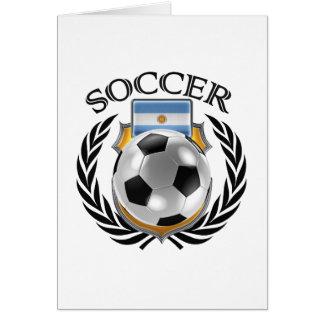 Argentina Soccer 2016 Fan Gear Card