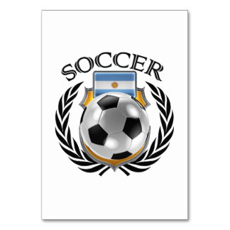 Argentina Soccer 2016 Fan Gear Card