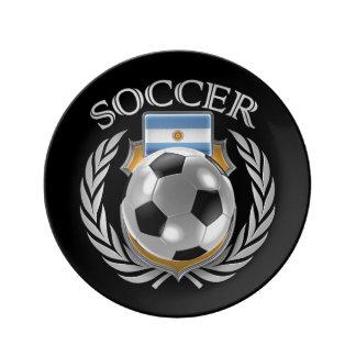 Argentina Soccer 2016 Fan Gear Dinner Plate