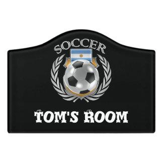 Argentina Soccer 2016 Fan Gear Door Sign