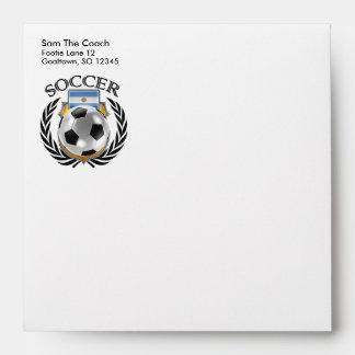 Argentina Soccer 2016 Fan Gear Envelope