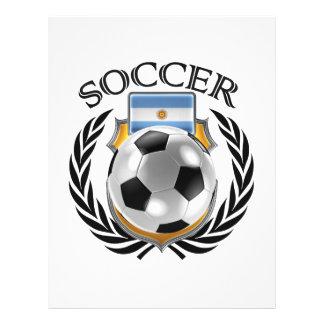Argentina Soccer 2016 Fan Gear Flyer