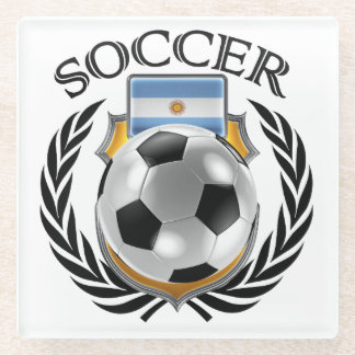 Argentina Soccer 2016 Fan Gear Glass Coaster