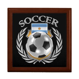 Argentina Soccer 2016 Fan Gear Jewelry Box