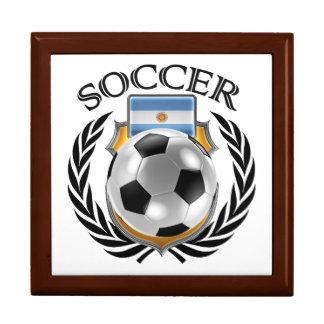 Argentina Soccer 2016 Fan Gear Keepsake Box