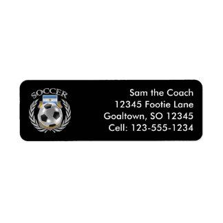Argentina Soccer 2016 Fan Gear Label