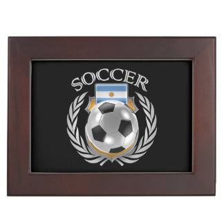 Argentina Soccer 2016 Fan Gear Memory Box