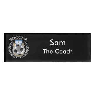 Argentina Soccer 2016 Fan Gear Name Tag