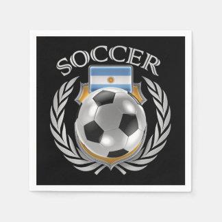 Argentina Soccer 2016 Fan Gear Napkin