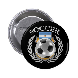 Argentina Soccer 2016 Fan Gear Pinback Button