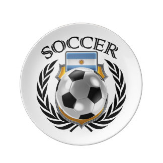 Argentina Soccer 2016 Fan Gear Plate