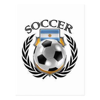 Argentina Soccer 2016 Fan Gear Postcard