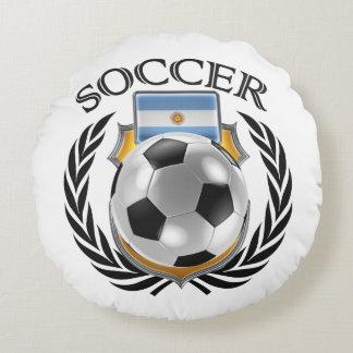 Argentina Soccer 2016 Fan Gear Round Pillow