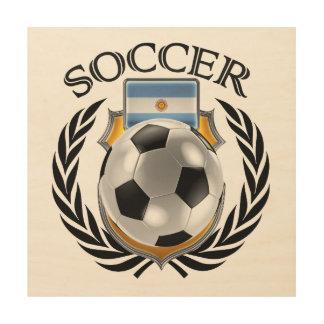 Argentina Soccer 2016 Fan Gear Wood Wall Art