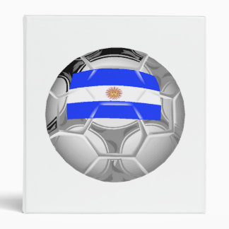 Argentina Soccer Ball Binder