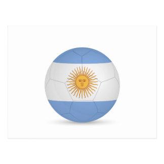 argentina soccer ball.jpg postcard