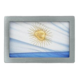 Argentina soccer belt buckle