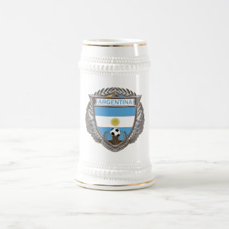 Argentina Soccer Beverage Stein Coffee Mugs