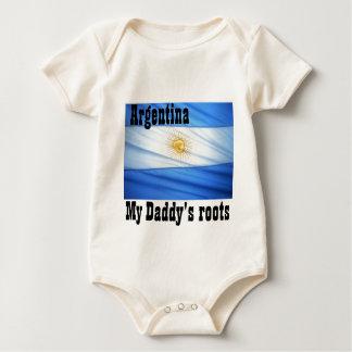 Argentina soccer bodysuit