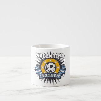 Argentina Soccer Burst Espresso Cup