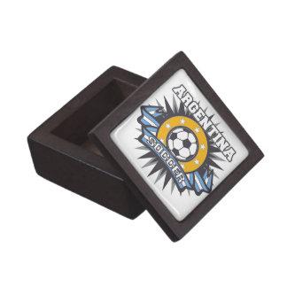 Argentina Soccer Burst Gift Box