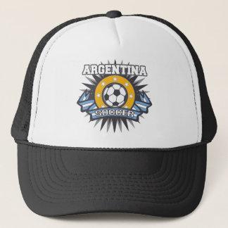 Argentina Soccer Burst Trucker Hat