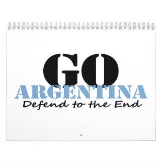 Argentina Soccer Wall Calendar