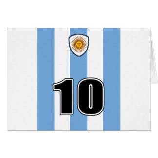 Argentina soccer card