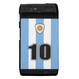 Argentina soccer motorola droid RAZR cover