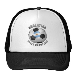 ARGENTINA SOCCER CHAMPIONS HAT