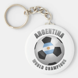 ARGENTINA SOCCER CHAMPIONS KEYCHAIN