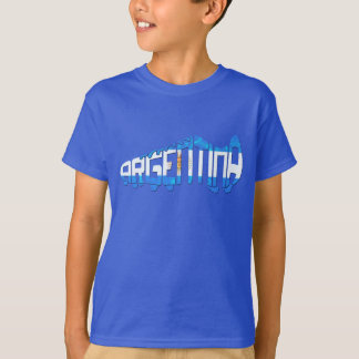 Argentina Soccer Cleat T-Shirt