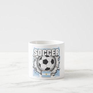 Argentina Soccer Espresso Mugs
