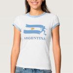 Argentina Soccer Flag shirt