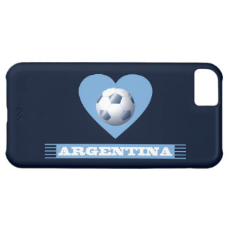 ARGENTINA Soccer Heart and Scarf Brazil 2014 iPhone 5C Cover