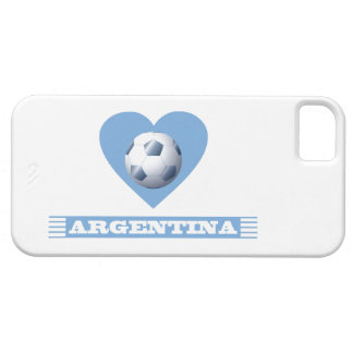 ARGENTINA Soccer Heart and Scarf Brazil 2014 iPhone SE/5/5s Case