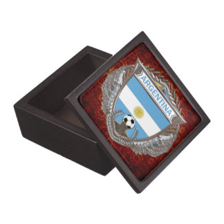 Argentina Soccer Jewelry Box