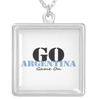 Argentina Soccer Necklace