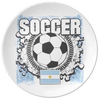 Argentina Soccer Plate