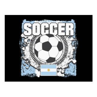 Argentina Soccer Postcard