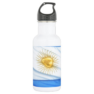 Argentina soccer stainless steel water bottle