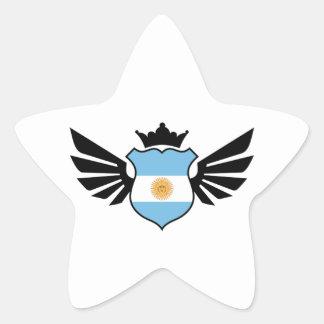 Argentina soccer star sticker