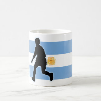 Argentina Soccer Striker Coffee Mug