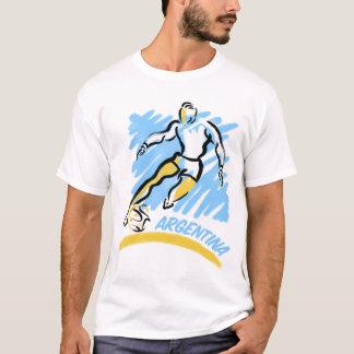 Argentina Soccer Swoosh T-Shirts