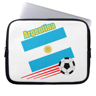 Argentina Soccer Team Computer Sleeve