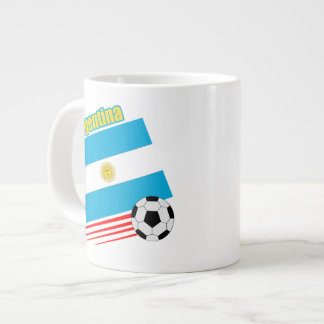 Argentina Soccer Team Large Coffee Mug