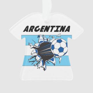 Argentina Soccer Team Ornament