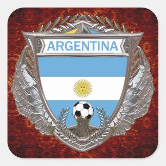 Argentina Soccer Team Square Sticker